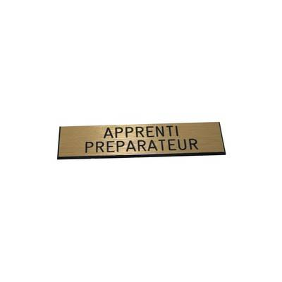 Badge Apprenti Pr�parateur pas cher