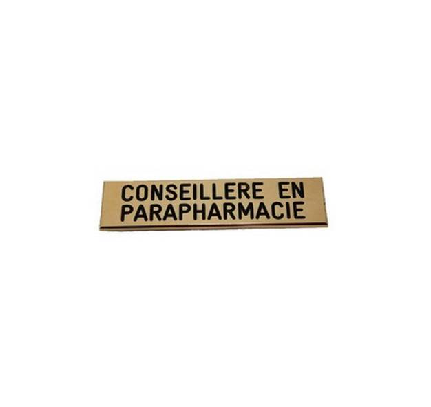 badge conseill�re en parapharmacie