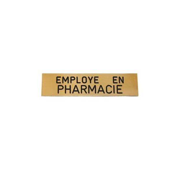 Badge Employ� en Pharmacie