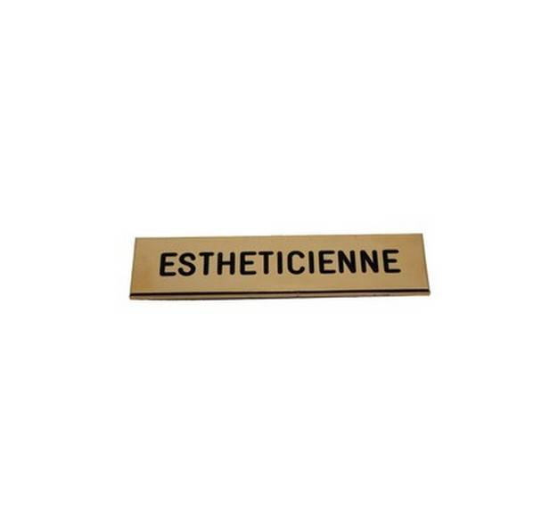 Badge Esth�ticienne pas cher