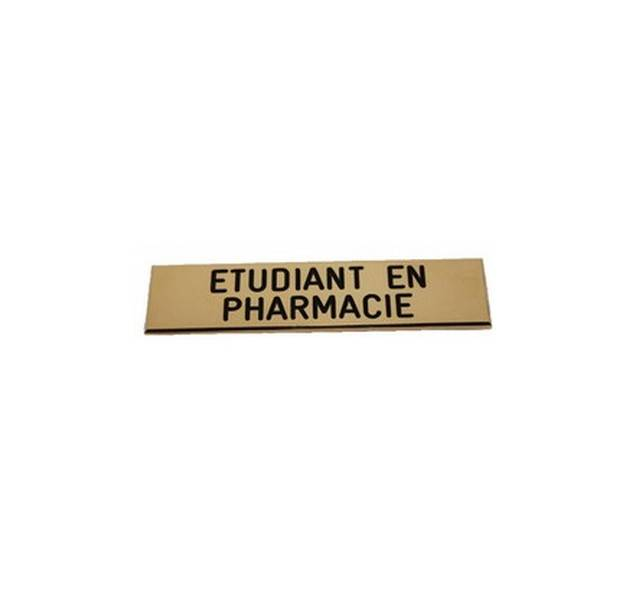 Badge Etudiant en Pharmacie de qualité