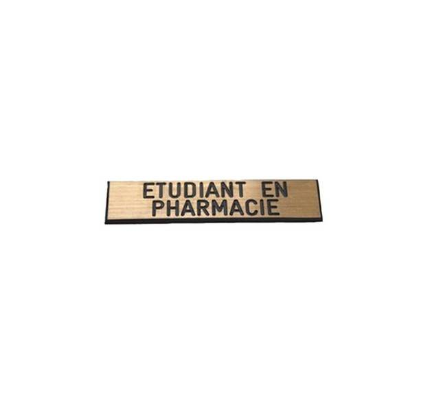 badge etudiant en pharmacie dor u00e9