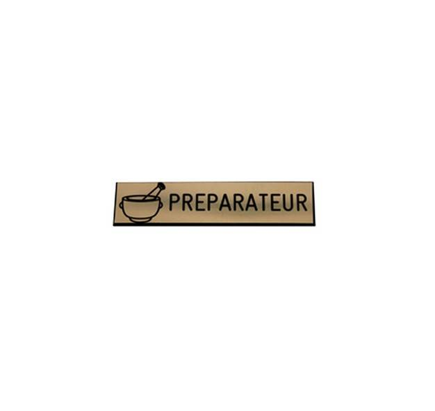 Badge pr�parateur