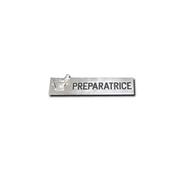 badge pr�paratrice � broche