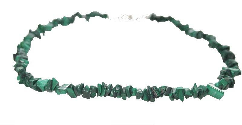 Collier en malachite � Marseille