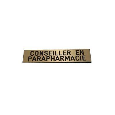 badge conseiller en parapharmacie pas cher