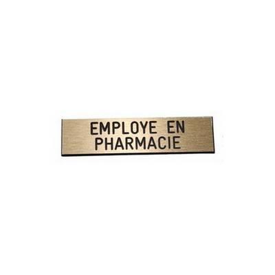 Badge employ� en pharmacie pas cher