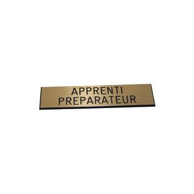 Badge Apprenti Préparateur pas cher