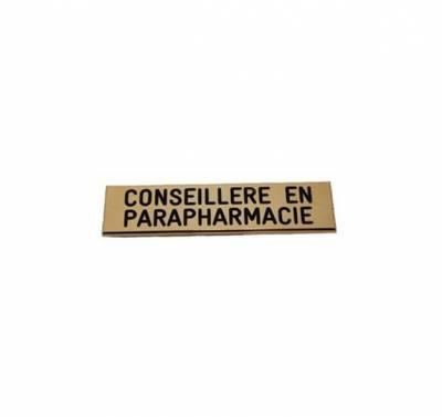 badge conseillère en parapharmacie