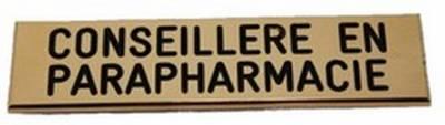 badge aimanté pharmacien