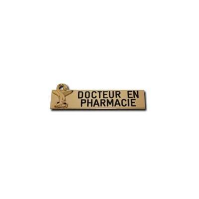achat badge docteur en pharmacie