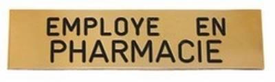 Badge Employé en Pharmacie aimanté