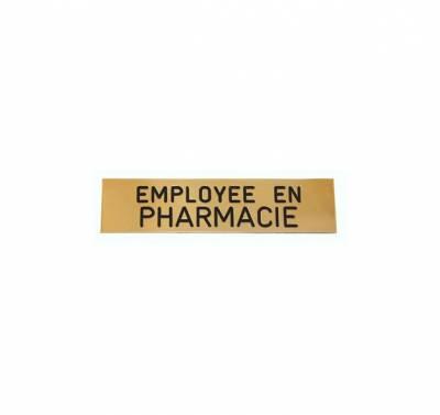 Badge employée en pharmacie