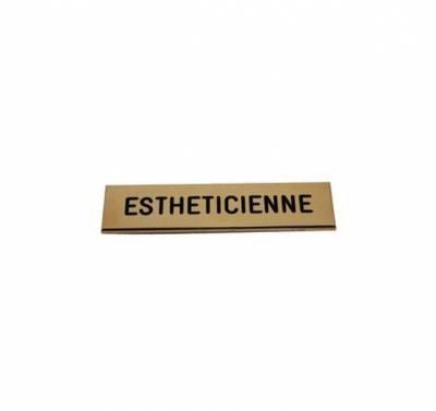 Badge Esthéticienne pas cher