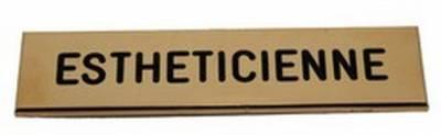 Badge Esthéticienne de qualité