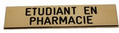 Badge Etudiant en Pharmacie pas cher