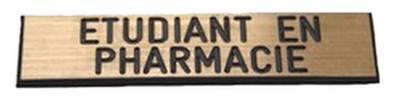 badge etudiant en pharmacie aimanté