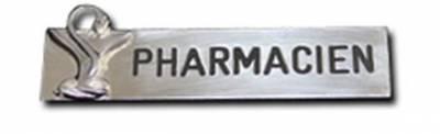 Vente badge pharmacien de qualité