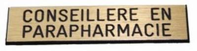 badge conseillère en parapharmacie aimanté