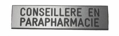 badge conseillère en parapharmacie broche
