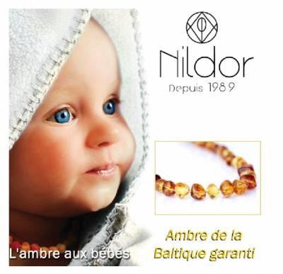 Collier ambre aux normes françaises